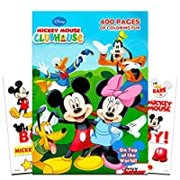 Mickey Mouse Clubhouse Gigantic Colouring Book - 400 Pages