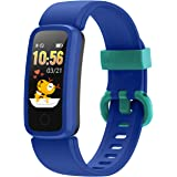 BIGGERFIVE Fitness Tracker Watch for Kids Girls Boys Teens, Activity Tracker, Pedometer, Heart Rate Sleep Monitor, IP68 Water