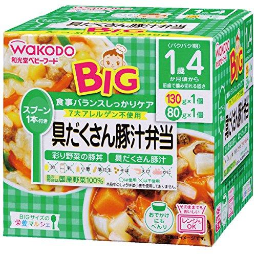 栄養マルシェ BIG 具だくさん豚汁弁当 箱210g