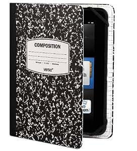 Verso 【Kindle Fire HD(2012年モデル)専用ケースカバー】 Scholar for Kindle トレンズ スコーラー ブラック/ホワイト VR103-001-23