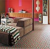 シンコール 住宅用クッションフロア Ponleum モロッコタイル ( 巾1.8m 長さ1m x ご注文数) 型番: E6001 03M