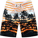 Men's Beach Surfing Boardshorts Swimming Trunk Hawaiian Shorts