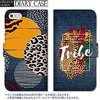 301-sanmaruichi- Galaxy S8 ケース Galaxy S8 カバー ギャラクシー S8 ケース 手帳型 おしゃれ エスニック デニムプリント オルテガ チマヨ B 手帳ケース SUMSUNG