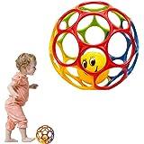 オーボール カラーボール ベビー ボール ベビーおもちゃ マルチカラー (ランダムカラー 直径15センチ)