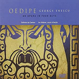 Oedipe: An Opera in Four Acts
