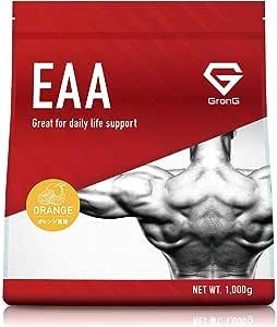 GronG(グロング) EAA アミノ酸 オレンジ風味 1kg (100食分) 必須アミノ酸 国産