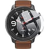 (2枚入り) Vikisda Amazfit GTR 47mm ガラスフィルム 強化ガラス Huami GTR 腕時計フィルム スクリーン保護フィルム 日本旭硝子素材 2.5D シール スマート腕時計 時計 軽減 薄型 自動吸着 指紋防止 気泡ゼロ