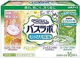 薬用入浴剤 HERS バスラボ しっとり保湿 リラックスアソート 4種類×4錠入