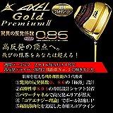 TSURUYA(ツルヤ) AXEL GOLD PREMIUMⅡ (アクセル ゴールドプレミアム2) ドライバー ロフト角10,5度 (高反発モデル) 【SLEルール不適合】 (FLEX-R)