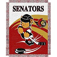 NHL Woven Jacquard Baby Throw Blanket