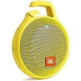 【国内正規品】JBL CLIP+ ポータブルワイヤレススピーカー IPX5防水機能 Bluetooth対応 イエロー  JBLCLIPPLUSYEL