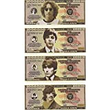 [ビートルズコレクティブル]The Beatles Collectibles The Beatles $Million Dollar$ Novelty Bills Complete Set of 4 [並行輸入品]