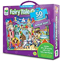 The Learning JourneyジャンボFloorパズル、Fairy Tale Castle