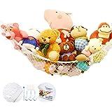 Stuffed Animal Toy Hammock | Premium Plush Toy Hanging Organizer | Jumbo Extra Large Storage Mesh Pet Net | Organize Clutter