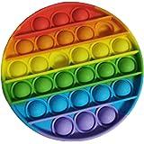 Toyzzone Push pop Bubble Sensory Fidget Toy, Autism Special Needs Stress Reliever Anxiety Relief Toys, Extrusion Bubble Fidge