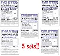 Deleter Comic Book Paper A4 Plain comic 40 sheets 5sets (Type-BK) 135kg from Japan