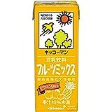 キッコーマン 豆乳飲料 フルーツミックス 200ml ×18本