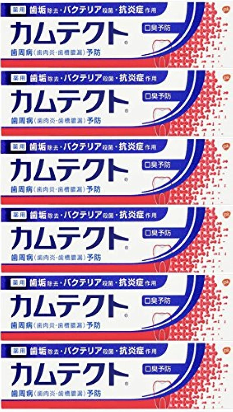 サイドボード熟練した無条件【まとめ買い】カムテクト 口臭予防 歯周病(歯肉炎?歯槽膿漏) 予防 歯みがき粉 105g×6個