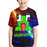 Xaler Un_Frog Un-Speak-able Style Kids 3D Print Shirt Toddler's 100% Polyester Cool T-Shirt