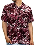 ROUSHATTE(ルーシャット) アロハシャツ レーヨン 総柄プリントシャツ 柄3 M