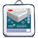 Tontine T6115 Comfortech Quilted Waterproof Mattress Protector, Queen