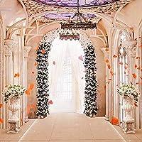 10X10フィート ファッション ウェディング 室内 花 写真 背景 写真 スタジオ小道具 結婚式 写真 背景
