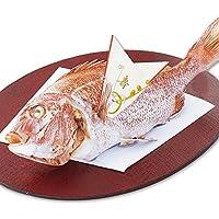 伊勢神宮外宮奉納 祝い鯛姿焼き (1kg) 鯛 尾頭付き 国産 愛媛県宇和海養殖 最高級ブランド真鯛 お食い初め 飾り付き