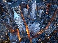 ウォール街の上空からの眺め写真ポスター81x61cm [並行輸入品]