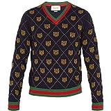 (グッチ) Gucci メンズ トップス ニット・セーター Tiger-intarsia wool sweater [並行輸入品]