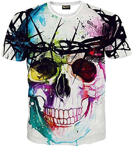ピゾフ(Pizoff) メンズ Tシャツ (XL, Y1625-18)