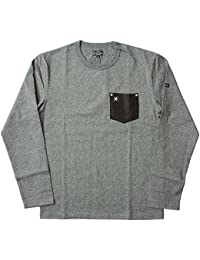 Schott #3143092 ディアポケット ワンスターリベット ロングスリーブTシャツ