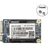 Zheino M3 内蔵型 mSATA 512GB SSD (30 * 50mm) mSATAIII 3D Nand 採用 6Gb/s mSATA ミニ ハードディスク