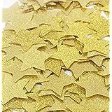 【EDEN】すぐ使える 紙吹雪 スター シャワー ハッピーウェディング 約100枚[ゴールド][2.4cm][E120]