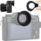Kiwifotos アイカップ Fujifilm X-T30 X-T20 X-T10 対応 ホットシュー装着 シリコン