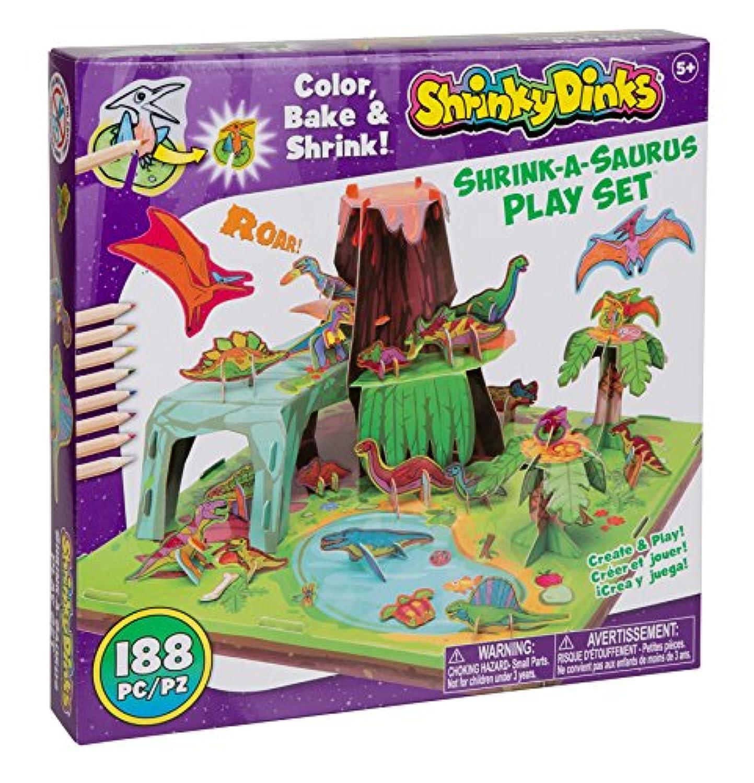 Shrinky Dinks Shrink A Saurus Playセット