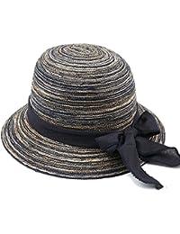 LIANGJUN 衣類 ヘッドウェア サンハット夏 老人 綿糸 日焼け止め 折りたたみができる 気を通す 5色 オプション 装飾品 綺麗な (色 : 40センチメートル-24ワット)