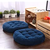 Round cushion/ Seat cushion /Floor Pillow Chair Cushion 16.5x16.5 inch Cushion Yoga mat living Room Sofa balcony, indoor Wind