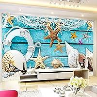 Hhkkck 壁紙カスタム3D写真壁紙家の装飾海洋動物壁画リビングルームの寝室の紙-350X250Cm