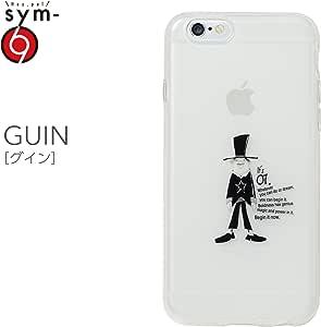 &y sym 【iPhone6s / iPhone6 両対応】 4.7インチ ソフトTPUケース キャラクター IMD光沢印刷 GUIN(グイン) 乳白クリア(SYM027)