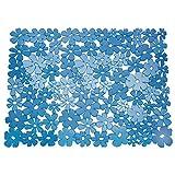 InterDesign シンク 用 マット 流し Blumz ブルー L 60961EJ