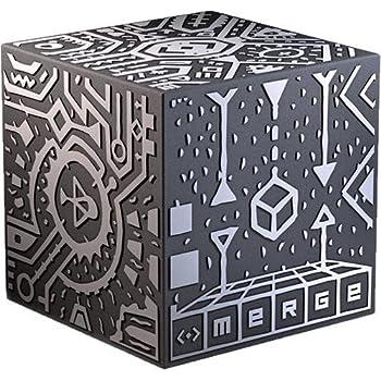 マージキューブ (MERGE Cube) 手のひらで遊べる世界初のホログラフィックおもちゃ iOSまたはAndroidスマートフォンまたはタブレット使用 VR/ARゴーグルでも使用できます (1キューブ)