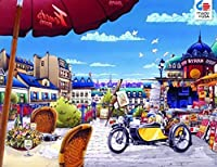 The Great Escape The Newspaper Stand in Paris Jigsaw Puzzle