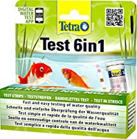 Tetra Pond Quick Test 6 In 1 25 Tests Safe Water Fishes Plants Pet Care Garden
