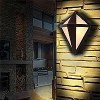 LEDダイヤモンド屋外防水壁ランプガーデンライトガーデンライト庭通路ライト