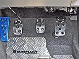 Beatrush(ビートラッシュ) ペダルセット(ブラック) スバル WRX Sti VAB 【S46024PS-AK】