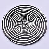 Spiral Metal Illusion - Steel / 高品質回るイリュージョン イリュージョンディスク マジックタイマー 面白い笑い道具 目が眩む 催眠 テレパシーマジック道具 近景/ステージマジック道具 手品の道具