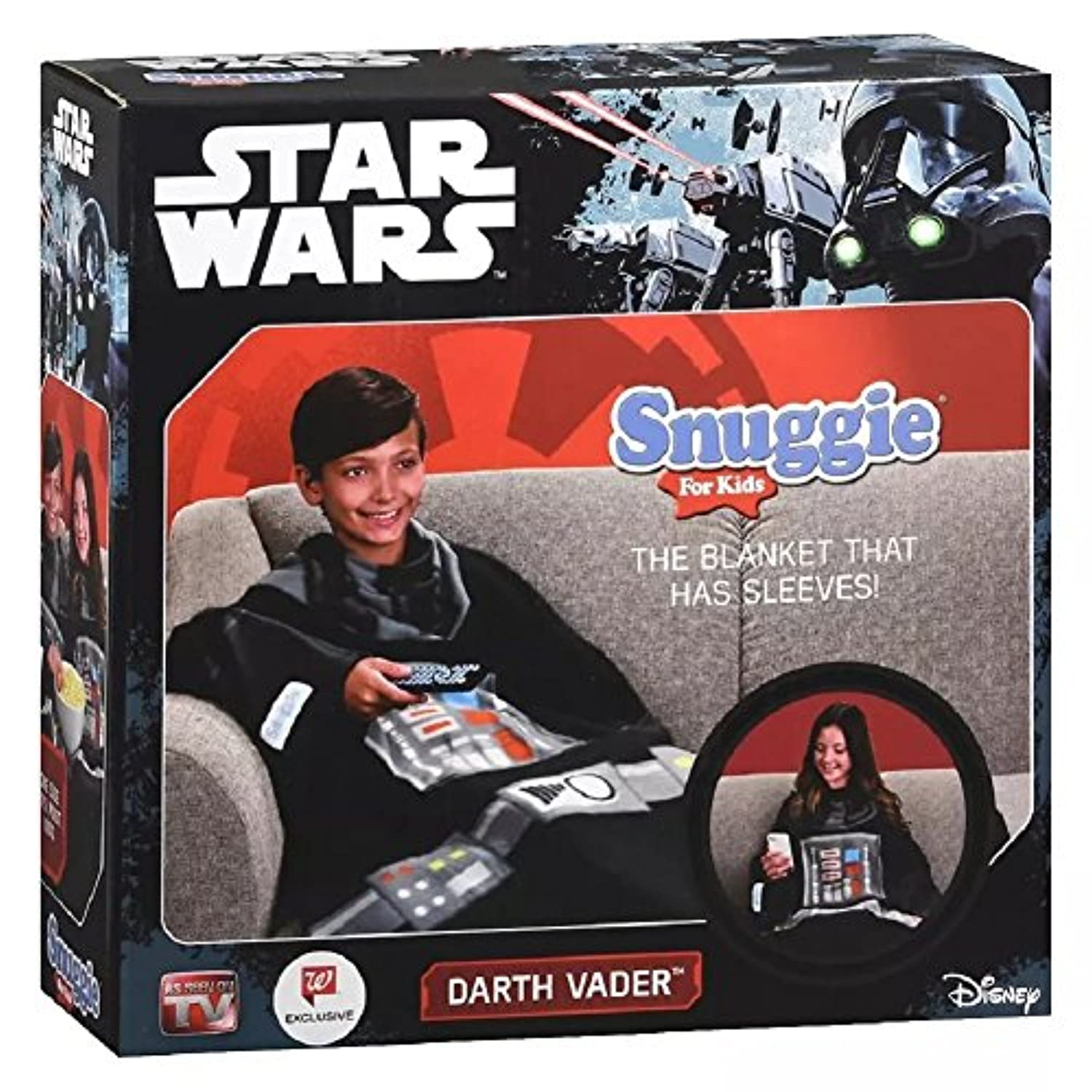 [Snuggie]Snuggie Star Wars For Kids Darth Vader B01N9APTVF [並行輸入品]