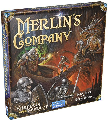 Days of Wonder Shadows Over Camelot Merlin's Company Board Game by Days of Wonder -