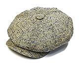 (ジェームスロック) JamesLock 帽子 シルクツイード8枚はぎハンチング 59cm col.2272