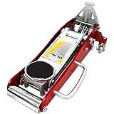 WEIMALL ガレージジャッキ 低床 フロアジャッキ 1.5t 油圧 アルミ+スチール製 ローダンウンジャッキ